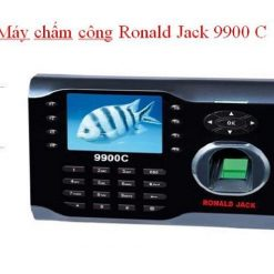 Máy chấm công vân tay Ronald Jack 9900C phiên bản 2016