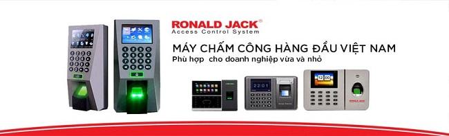 Máy Chấm Công Ronald Jack Chính Hãng - Top 5 Máy Bán Chạy